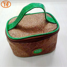 Portable waterproof cosmetic case fashion eva women wash bag