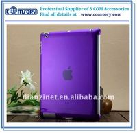 Crystal clear plastic case for iPad 2 cover case for iPad hard slim protective case for iPad 2 skin case for tablet netbook
