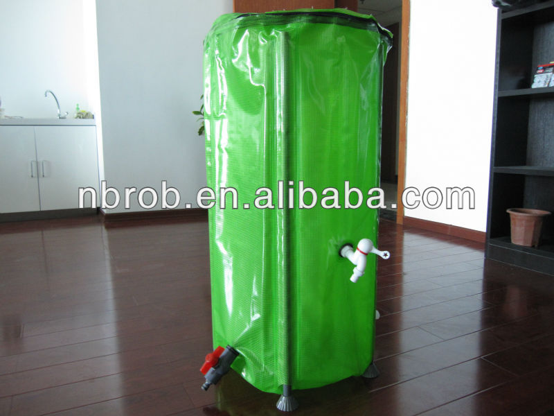 Collapsible Garden Plastic water tank with PVC-400L