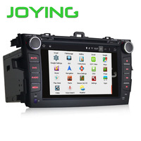 Android DVD/CD player car stereo 8 inch quad core 1024*600 android car radio gps toyota corolla
