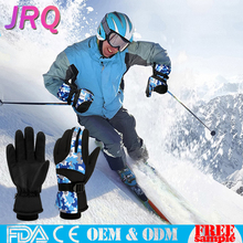 Ski and Snowboard Gloves Fashion Outdoor Free Sample Motorcycle Waterproof OEM ODM Winter heated Skiing Glove