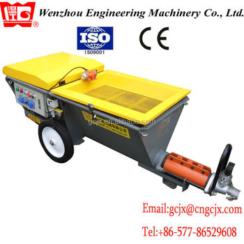 ISO9001:2008, CE! JP70-P most popular plastering machine in China