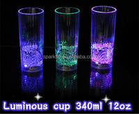 led cup blink Flash Led glass for party decoration wedding or events