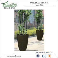New design low flower pot for indoor use