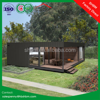 20ft 40 foot flat pack sandwich panel steel house villa mobile home prefabricated container villa