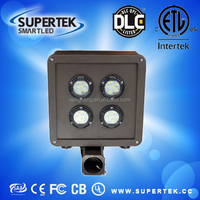2017 DLC LISTED led flood light outdoor with 40w 200w high lumen outdoor LED shoe box light