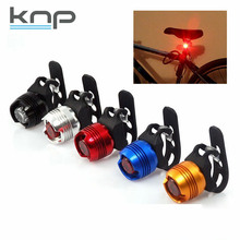 OEM mini Led button cell tail rear bicycle aluminum waterproof safety warning bike light