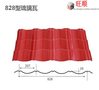cheap corrugated metal building materials for roof tiles