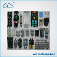 Low Volume High Quality Soft Rubber Silicon Molding Parts for Remote Controller