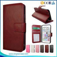 New Products ID Card Slots With Stand Wallet Flip Leather Case Cover for Lenovo Phab Plus