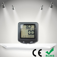 Outdoor Sport Wired and Wireless Bicycle Computer Waterproof Speedometer of Bike