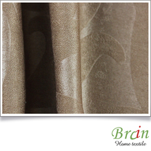 Top quality SGS certified embossed faux suede hospital curtain fabric