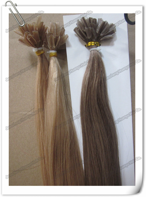 cheap price nail U-tip 100% remy human hair african american art wholesale