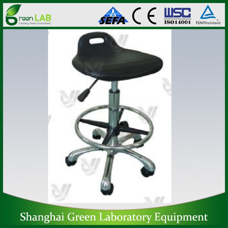 GL-23 Series PU Leather Seat Steel Material Lab Furniture gas lift cylinder office chair