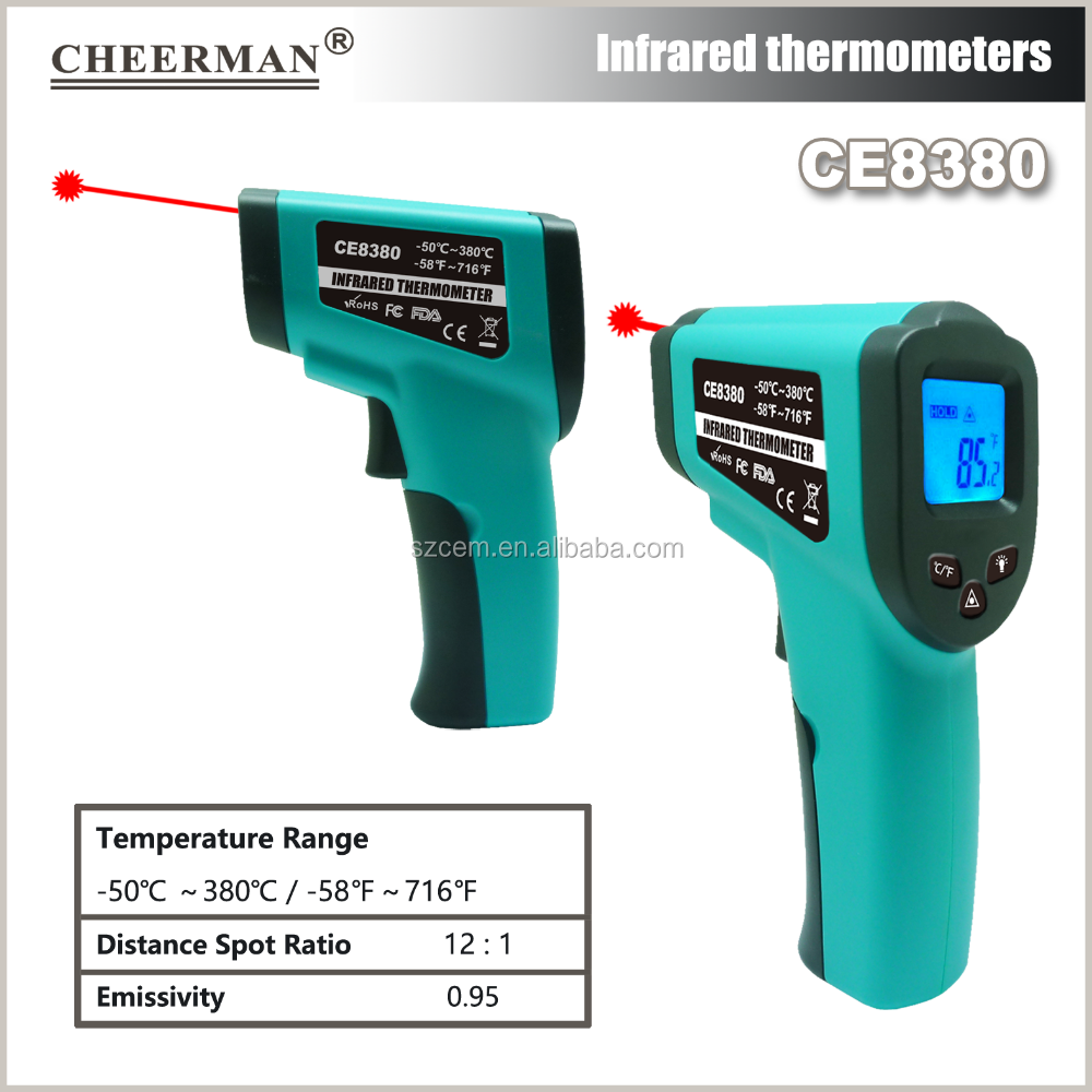 CE8380(-50-380C)Household usage digital thermometer