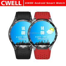 Smart Watch KW88 Android 5.1 Smartwatch with Bluetooth 4.0 1.39 inch Amoled Round Screen Quad Core 3G WIFI Heart Rate Monitor