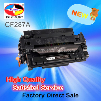 Stable compatible Toner Cartridge for HP CF287A 87A CF287X Factory Directly Supply Manufactroy