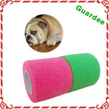 Wholesale Promotion Neon Veterinary Care Latex Cohesive bandage