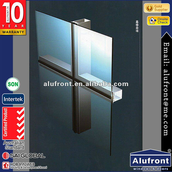 Top Quality Europe Designed Aluminum And Wood Clad Windows Doors Series in China