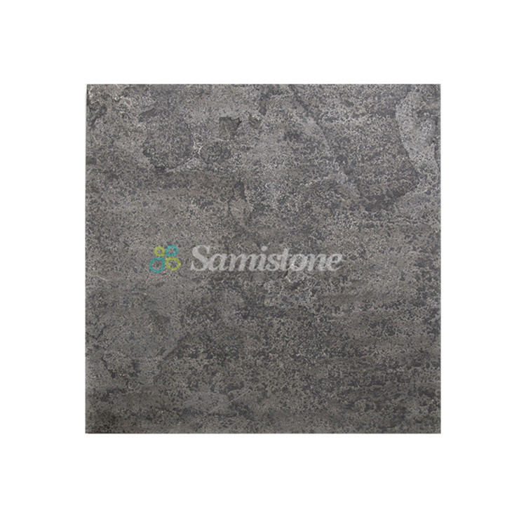 Samistone Flamed Blue Limestone French Pattern