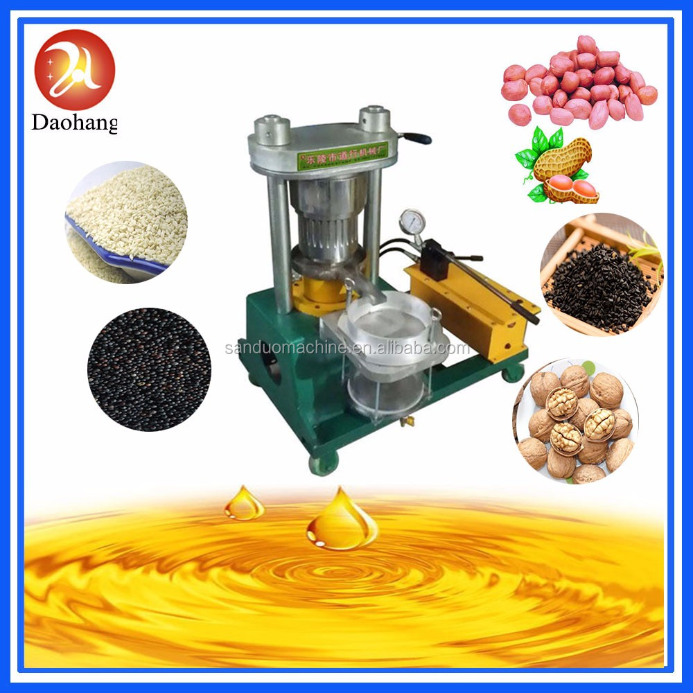 sunflower/peanut hydraulic oil press machine/oil expeller machine