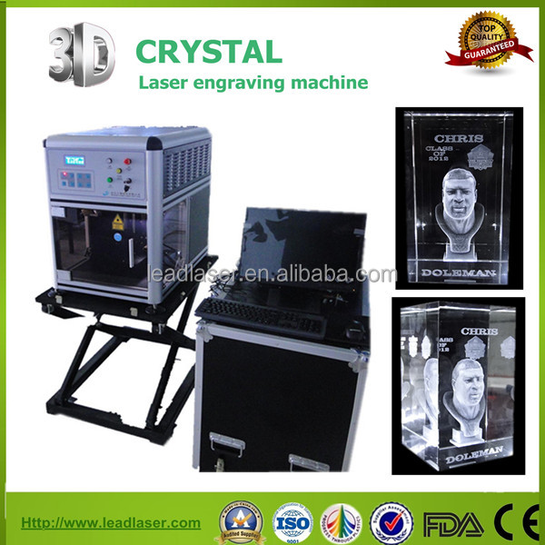 3d laser inside engraving system for new lighting portable photo booth