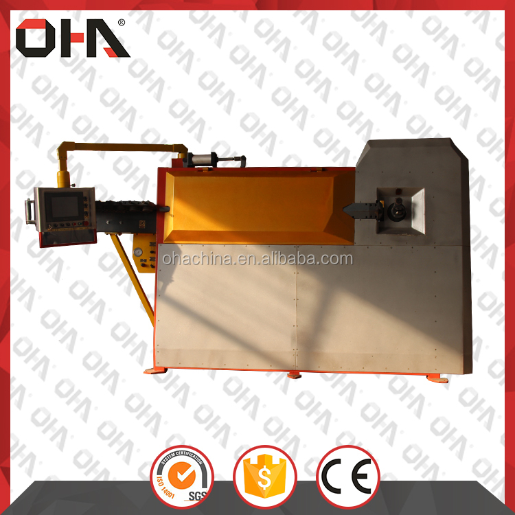 """OHA"" Brand HA-4-12S Direct <strong>Manufacturer</strong> For Cnc Steel Bar Bending Machine,Stirrup Bending Machine Factory Price"