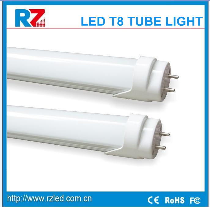 UL t8 4ft led tube light fixture 1200mm 18w,8ft led tube light