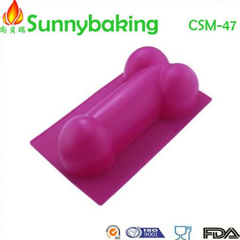 temperament and interest silicone cake mould, Penis silicone biscuit cake molds