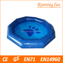 Hot sale PVC indoor swimming pools frame for sale