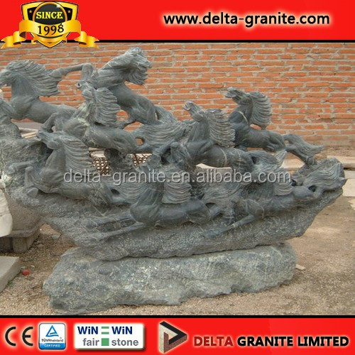 Hot Sales Granite and Marble Animals' Carvings&Horse Stone Sculpture