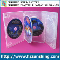 China made plastic PP DVD case