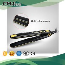 Pro ceramic tourmaline iron perfect personalized multi-function ionic titanium hair straightener