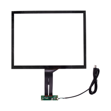 15 Inch Capacitive Touch Screen Digitizer With USB Controller Card Board