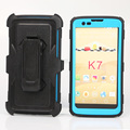 beautiful mobile phone back cover For LG K7 New Holster Combo Case