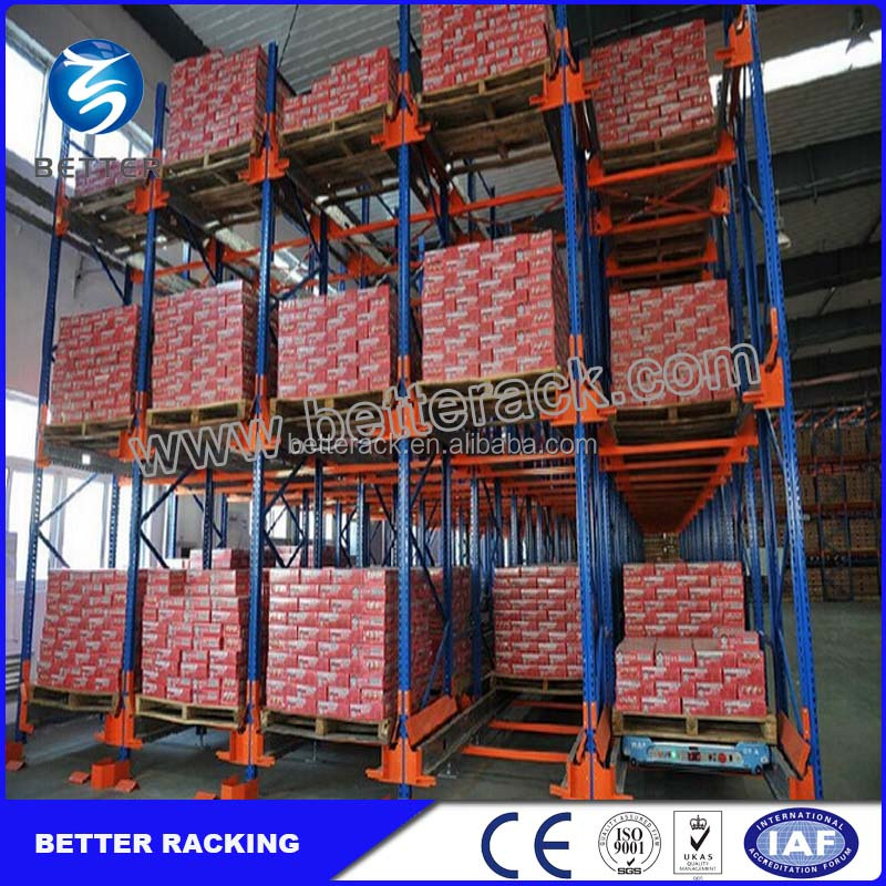 Massive storage Radio Shuttle Racking for Industrial Warehouse Storage