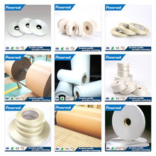 Electrical insulating Capacitor Paper,Transformer Oil Duct Dog Bone,herringbone twill Cotton Banding Self Adhesive Tape