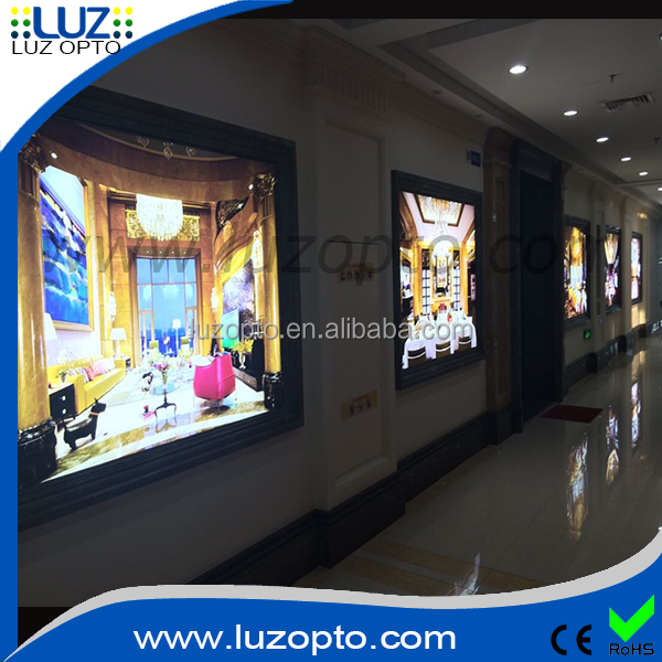 led Fabric Tension Display System,fabric led poster frame,illuminated fabric light box