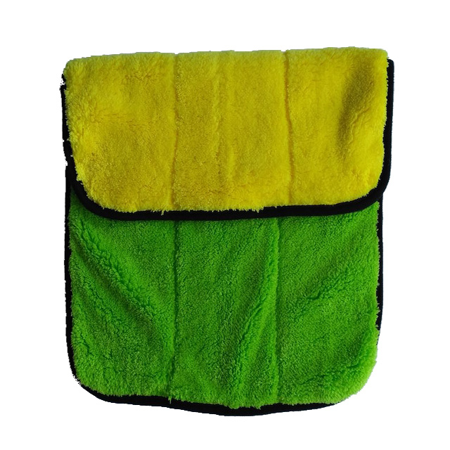 Synthetic chamois car wash cloth(Synthetic chamois leather, shammy, PU coating)