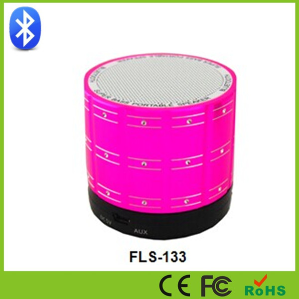 Shenzhen Factory 2014 New Design Outdoor Led Light Bluetooth Portable MP3 Audio Player Speaker
