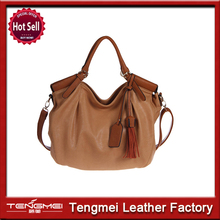 New tote lady bags polyurethane quality handbags made in Guangzhou China