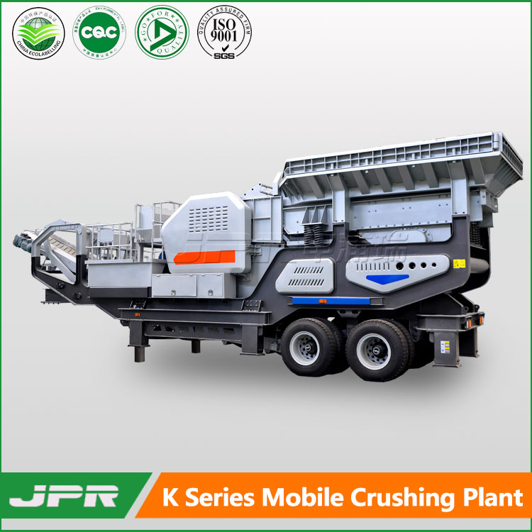mobile concrete stone crusher plants mobile crushing station jaw crusher impact crusher