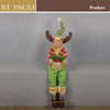 28inch St.Pauli factory price sitting stuffed christmas deer