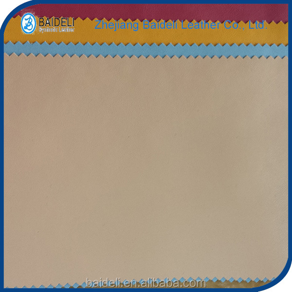 hot sale pvc synthetic camel garment leather