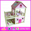 2016 new design funny baby toy wooden house W06A136