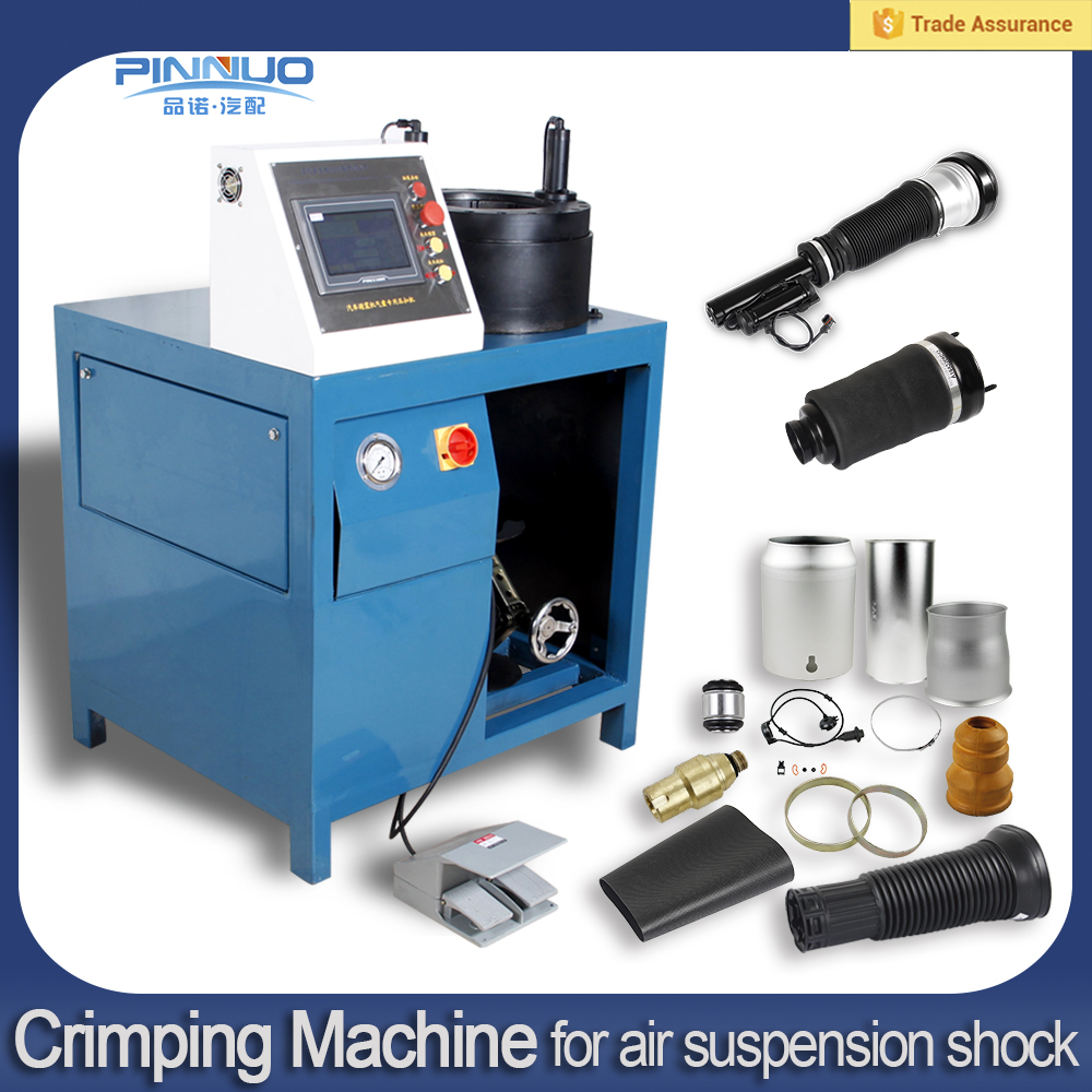 Newest style hydraulic air spring hydraulic hose crimping machine for sale