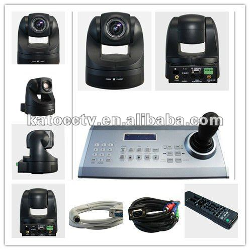 "550 tvl USB 1/4"" PTZ 18* CCD Video-Conferencing-Kamera with Sony module KT-D848USB"
