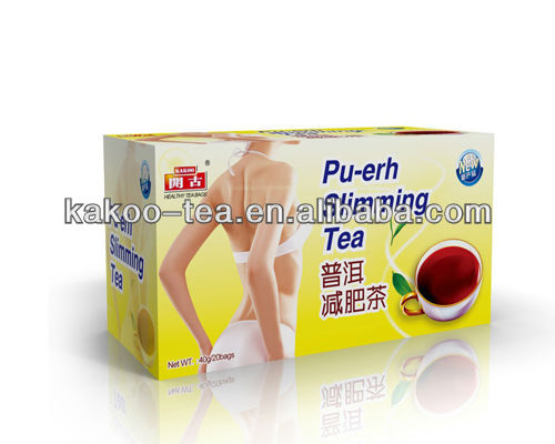 Kakoo easy slim tea benefit body cleaning tea Pu-erh slimming tea
