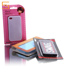Customized phone clamshell blister packaging/mobile phone case packaging