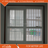 YYhome casement Wooden Shutter With Movable Blade